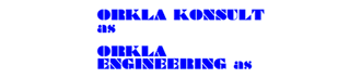 Logo Orkla Konsult AS, Logo Orkla Engineering AS